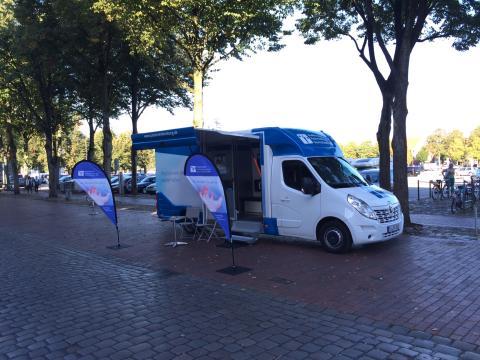 Beratungsmobil der Unabhängigen Patientenberatung kommt am 14. Juni nach Heide.