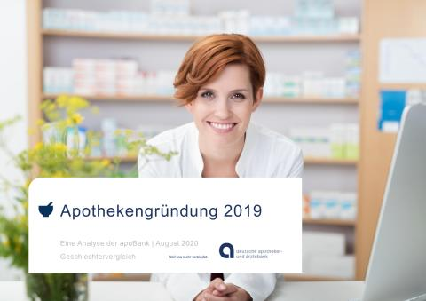 Grafiken zu Pressemitteilung: Apothekengründung 2019 im Geschlechtervergleich