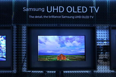 Samsung unveils UHD OLED TV at IFA 2013