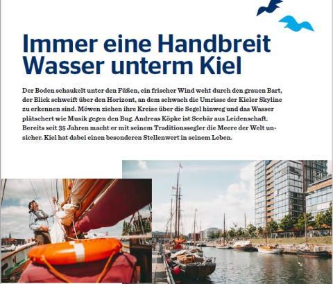 EINLADUNG zum Presse- und Fototermin | Vorstellung des Urlaubsmagazins Kieler Förde 2021