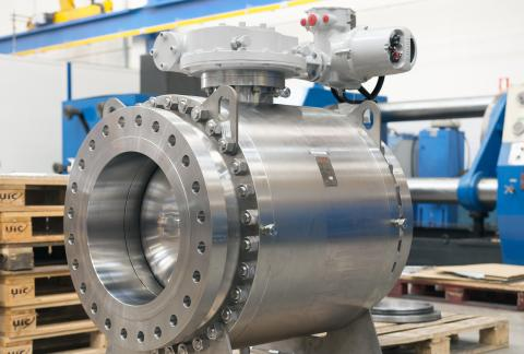 Rotork electric and fluid power actuators supplied to oil production site in the Middle East