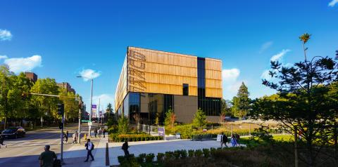 RECENTLY COMPLETED BURKE MUSEUM IN SEATTLE FEATURES STRIKING KEBONY-CLADDED FAÇADE