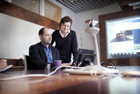 Umeå Energis videokonferenser sparar tid, pengar och miljö – satsar på ny teknik och minskat resande