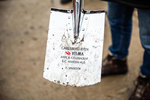 Foto: Visma/PR 1. Spadestik E.C. Hansen Hus