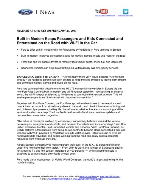 TEKNOLOGI: Få et personligt hotspot i bilen