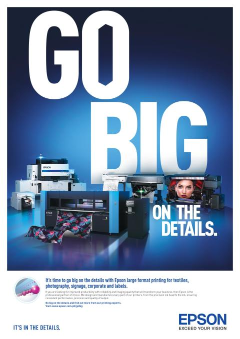 Epson urges businesses to 'Go Big' on the details