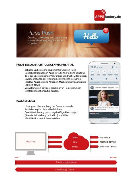 Factsheet zum Thema PushPal