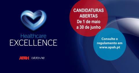 Prémio Healthcare Excellence: candidaturas abertas até 30 de junho