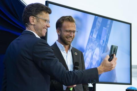 Skandinavias største 5G-pilot åpnet i Elverum