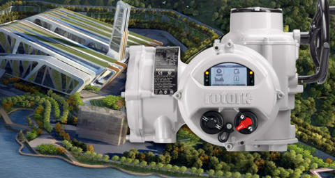 World's largest waste-to-energy plant using Rotork actuators to produce power for China