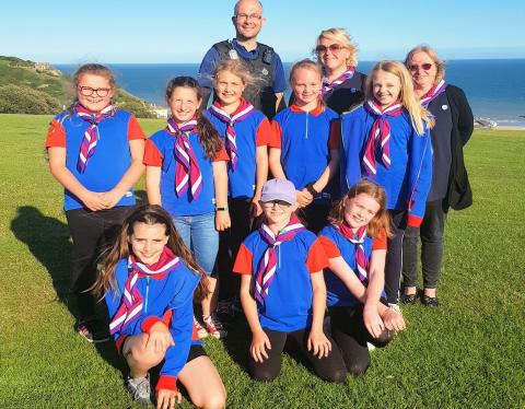 Hastings guides helped to do their best by Sussex Police
