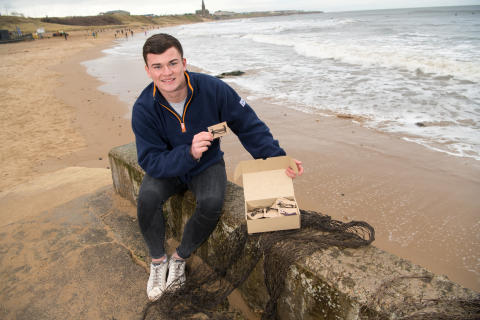 Student entrepreneur launches business with a social mission