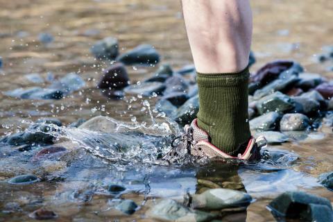 Vedenpitävät Bridgedale StormSock -sukat - Suomen kesän ja syksyn vaihtelevan sään harrastuksiin