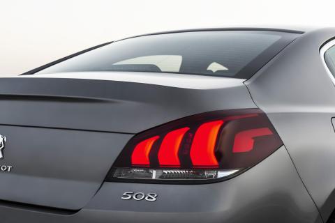 Peugeot 508 bakljus