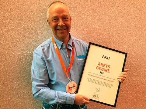 Värmlandsprofil utsedd till Årets insamlare 2017