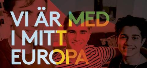 Upptäck EU i Sverige -  över 100 aktiviteter i Mitt Europa