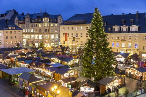 4. Weihnachtsbaum in Annaberg-Burgholz