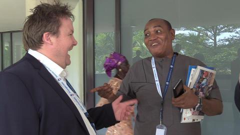 Norske fiskeeksportører møter importører i Nigeria