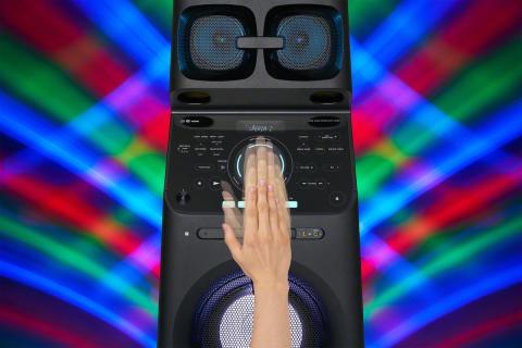 MHC-V90DW Gesture_Control_DJ_updown-Mid