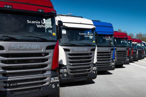 Scania Gebrauchtfahrzeuge