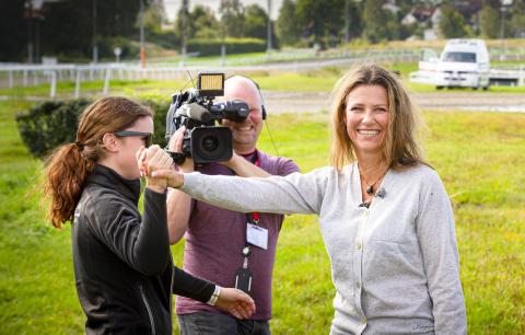 Hest360FordChallenge Ryggekonkurranse Øvrevoll Märtha Loiuse med Jeanette Vagle, Sandnes Rogaland25.08 2019
