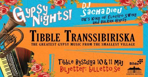 Tibble Transsibiriska & DJ Sacha Dieu - live i Tibble Bystuga
