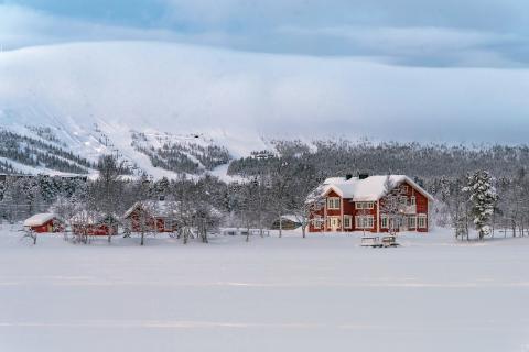 Aurora Estaten Uuden-Vuoden juhlaillallinen.