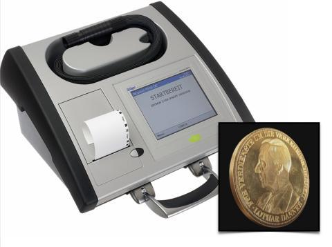 Danner-Medaille in Gold für Forschung von Dräger Safety