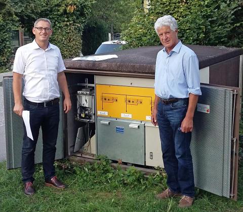 """Start für """"Strom-Internet"""": Bad Feilnbach testet Breitband-Powerline"""