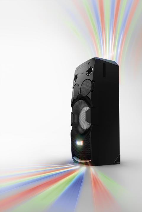 Party, bis die Wände wackeln: Mit den neuen leistungsstarken Audiosystemen von Sony