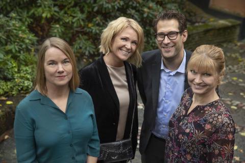 Nominerade i kategorin Årets Berättare:  Kattis Ahlström, Niklas Källner, Lisa Jarenskog och Anna Jaktén
