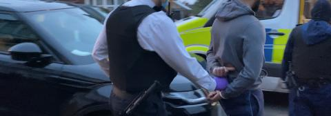 Seven arrests after drugs raids to target high harm offenders