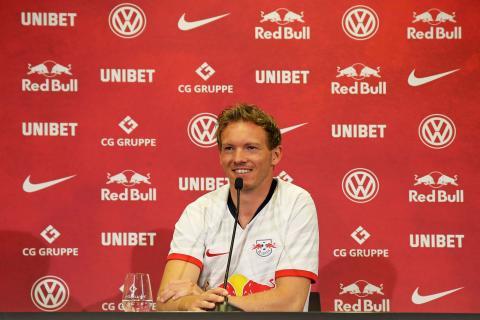 Neuer Trainer Julian Nagelsmann stellt sich beim RBL vor