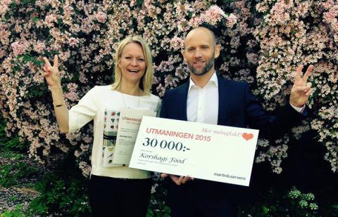 Korshags - Vinnare i Martin & Serveras Utmaning 2015