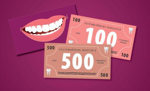 Ge bort tandvård - Folktandvården inför presenkort