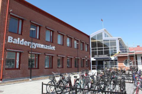Energibesparing med dynamiska glas till Baldergymnasiet i Skellefteå