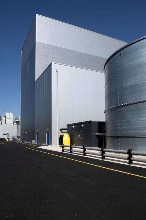 External shot of £50m Telford expansion