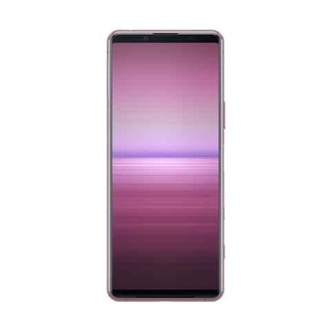 Xperia 5 II_front_pink