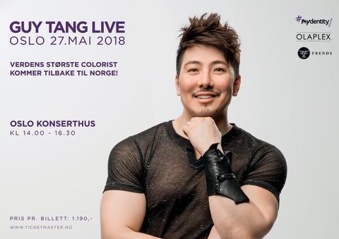 Vil DU sikre deg billett til Guy Tang LIVE i OSLO?