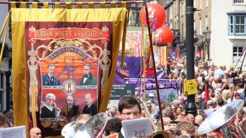 Durham Miners' Gala – Saturday 14 July