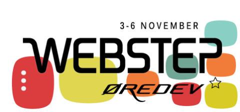 Webstep stolt partner på Øredev i Malmö den 3-6 november!