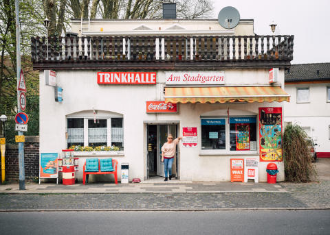 Trinkhalle am Stadtgarten, Herne