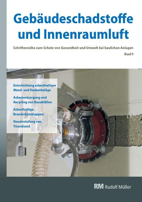 Gebäudeschadstoffe und Innenraumluft, Band 9 (2D/tif)