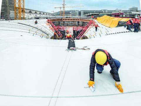Stuttgart 21 – die hohe Kunst des Betonbaus