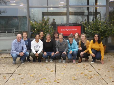 Das Team des Bieler FPZ Therapiezentrums