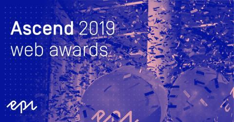 Finalisterna utsedda i årets Web Awards på Episerver Ascend