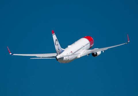 "Norwegian voted ""Best Low-Cost Airline of the World"""