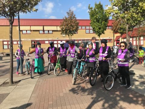 Cykelskola för våra hyresgäster - Kursstart!