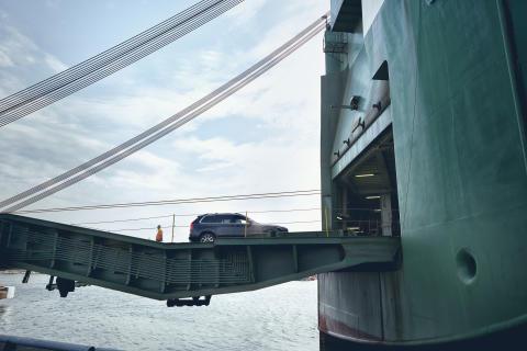 Göteborgs hamns godsvolymer för årets första kvartal klara