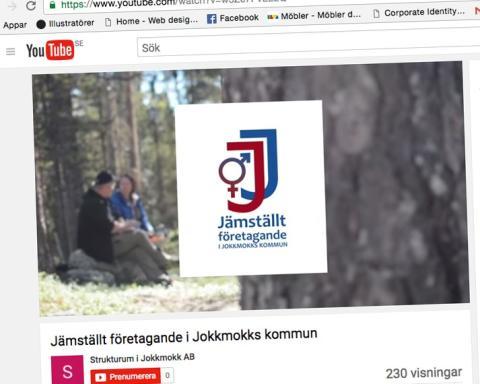 Jokkmokk har flest företagsamma kvinnor och unga i länet